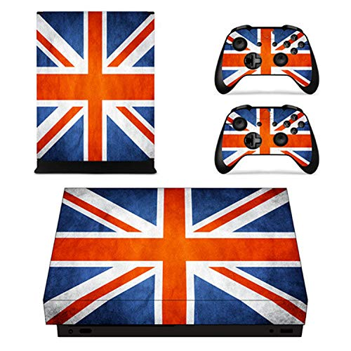 USA National Flag Faceplates Skin Console & Controller Decal Stickers for Xbox One X Console + Controller Skin Sticker,YSX1X0060