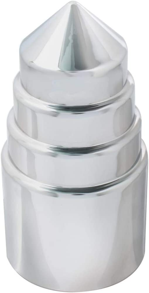 33mm Plastic Tower 4 inches H Type Push-On Nut Cover GG Grand General 10332SP Cr Set of 10