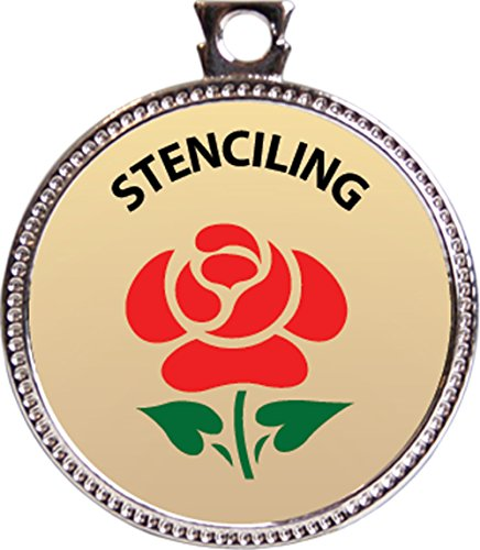 stenciling-award-1-inch-dia-silver-medal-creative-arts-and-hobbies-collection-by-keepsake-awards