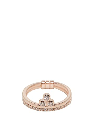 Esprit Damen-Ring Play 925er Silber Zirkon (rosé)  Amazon.de  Schmuck 4d542ec7e0