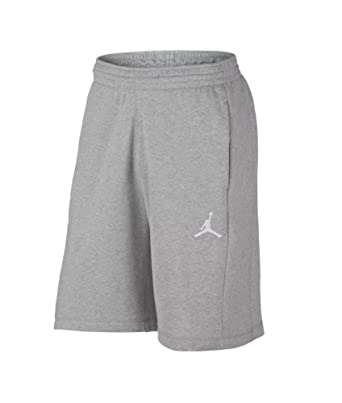 382a3e11947 NIKE Men's Air Jordan AJ Flight Fleece Retro Sweat Shorts AA5613-063  Heather Gray (