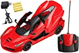 Magicwand® Remote Controlled Rechargeable Ferrari with Opening Doors & Boot (Royal Red)