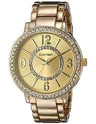 Ellen Tracy Women's ET5192GD Gold Dial Classic Ladies Watch