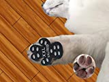 VALFRID Dog Paw Protector Rugged Anti Slip 24 Pieces,Disposable Self Adhesive Resistant Dog