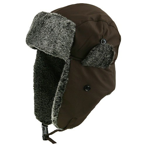New Water Repellent ML Trooper Hat - Brown