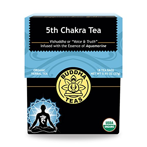 BUDDHA TEAS - 5th Chakra Throat Tea 18 bag