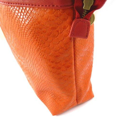 Borsa french touch Scarlett arancione.