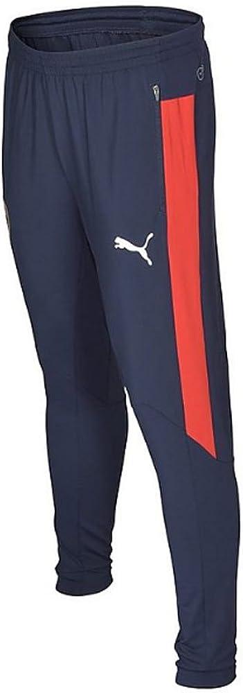 PUMA Pantalones de Entrenamiento de la AFC Hombre, con Dos ...