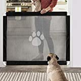 Namsan Magic Gate for Dogs – Magic Gate Pet Safety Gate Portable Safety Guard for Pets Dog Cat