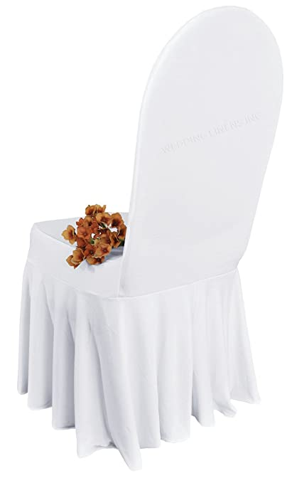 Superb Wedding Linens Inc Spandex Banquet Fitted Chair Covers Lycra Stretch Elastic Wedding Party Decoration Chair Cover White Creativecarmelina Interior Chair Design Creativecarmelinacom