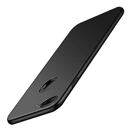 acd7a9fa35f5 Amazon | 【Anccer】 スマホケース iPhone7 Plus ケース おしゃれダート抵抗性能をドロップ超極薄オールインクルーシブ  セキュリティ耐衝撃 (滑らか ブラック) ...