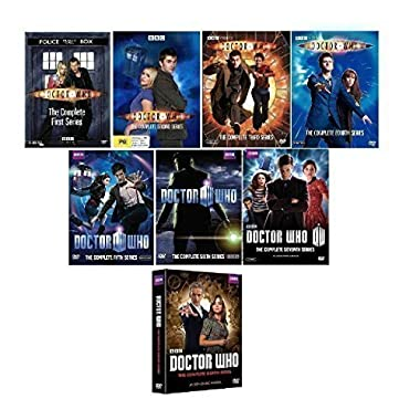 Doctor Who - The Complete Seasons Collection 1-8 (DVD, 45-Disc, 2014)