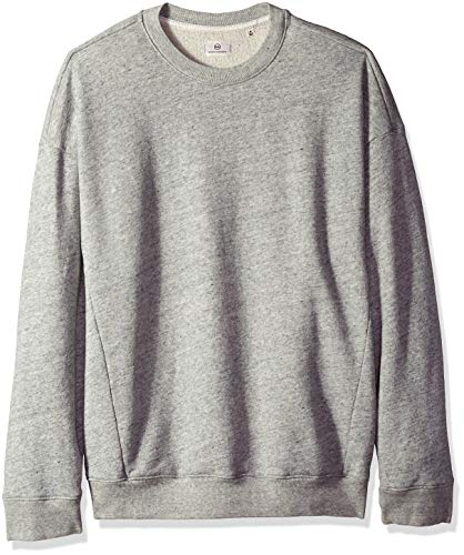 AG Adriano Goldschmied Men's Archetype Oversized Pullover, Heather Grey, XX-Large from AG Adriano Goldschmied