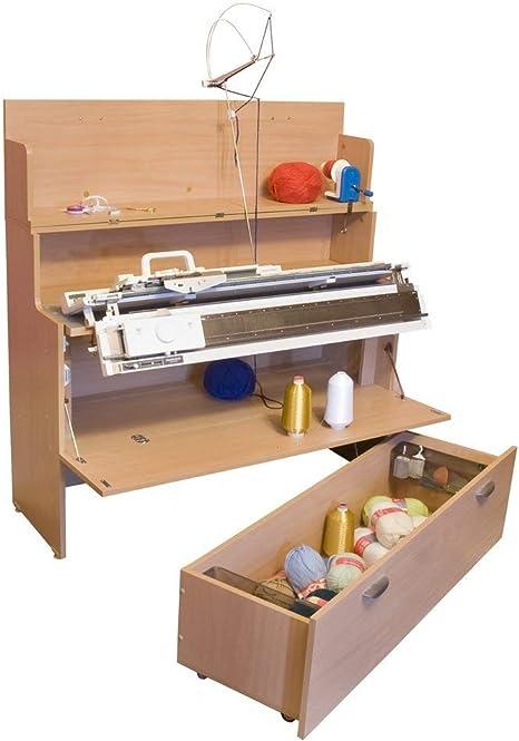 Comfort | Mesa para Maquina de Tejer | Brother Silver Reed | (Oak ...