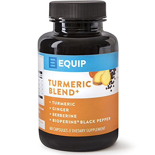 Turmeric Curcumin Bioperine Capsules Supplement: All Natural Pills w Ginger & Black Pepper Extract for Best Absorption – 95% Curcuminoids – High Potency Turmeric Supplements – Supports Joint Health