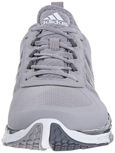 adidas Performance Herren Speed Trainer 2 Trainingsschuh Licht Onyx Grau / Carbon Metallic / Weiß