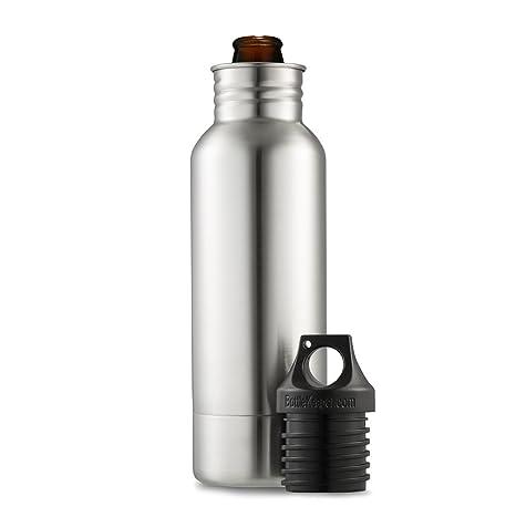 4a0ff4990e71 Amazon.com: BottleKeeper - The Original Stainless Steel Beer Bottle ...