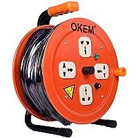 بكرة تمديد كابل للتوصيلات الكهربائية من أوكيم، 25 متر