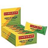 Larabar Gluten Free Bar, Fruits + Greens Pineapple Kale Cashew, 1.24 oz Bars (15 Count)
