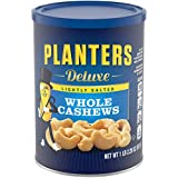 Planters Lightly Salted Deluxe Whole Cashews (1lb 2.25oz Canister)