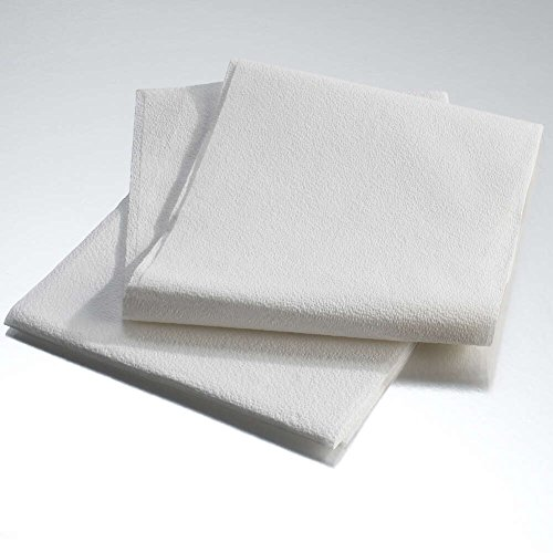 Graham Medical Drape Sheet, Disposable, 2-Ply Tissue, 40 Inch x 48 Inch, White (Case of 100)