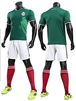 mqtwer Traje De Fútbol, Jersey 2018 De Los Hombres, Camisetas De Adulto