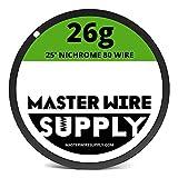 Nichrome 80 Wire Sample Pack 25' each