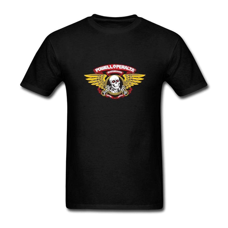 Michaner Walosde Mens POWELL PERALTA Logo T-shirt Short Sleeve