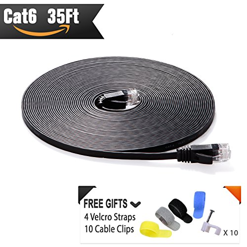 35 foot ethernet cable cat 6 - 8