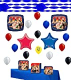 Wrestling Party Supplies and Balloon Decoration Kit Bundle