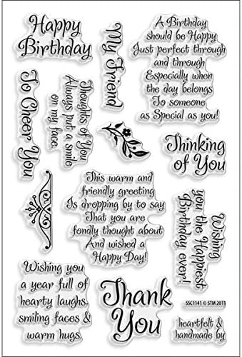 Stampendous Perfectly Clear Stamps 4 x 6-inch-Dog Sayings