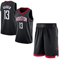 NBA James Harden Houston Rockets Basketball Jersey with Shorts Black