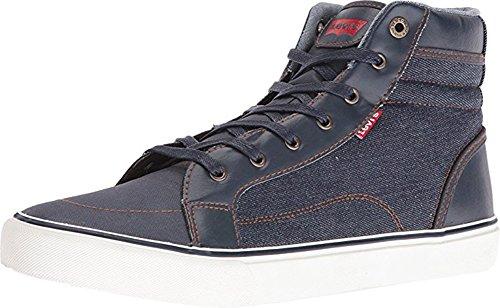 Levi's Mens Ashbury Denim Shoes (Black) (8.5)