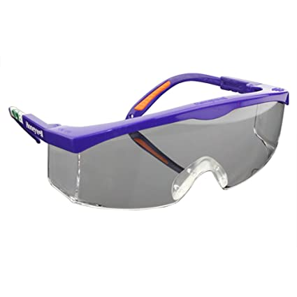 361b5828e91 Image Unavailable. Image not available for. Color  SimingD Safety Glasses  With Translucent Black Polycarbonate Frame And Clear ...