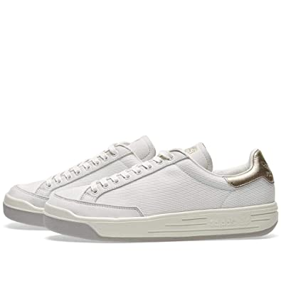 official photos f5c77 4d614 adidas Originals Rod Laver Super Platinum Trainers Sneakers Shoes BA7271  Vintage White Men s UK 9, EUR 43  Amazon.co.uk  Shoes   Bags