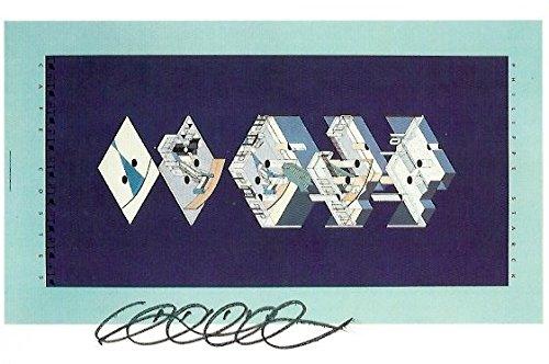 (Philippe Starck FRENCH DESIGNER autograph, signed art postcard)