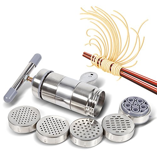 Fdit Manual Noodles Press Machine Pasta Maker Juice Squeezing Machine Hand Crank Making Tool Cookware