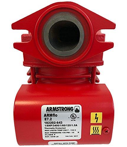 Armstrong 182202-643 1/6 Horsepower Armflo E7 Close-Coupled Circulator Pump