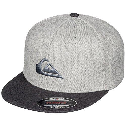 Quiksilver Youth Boys Stuckles Hat Medium Grey - Visor Quicksilver