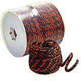 ROPE Black/Orange 3/8'' x 600'