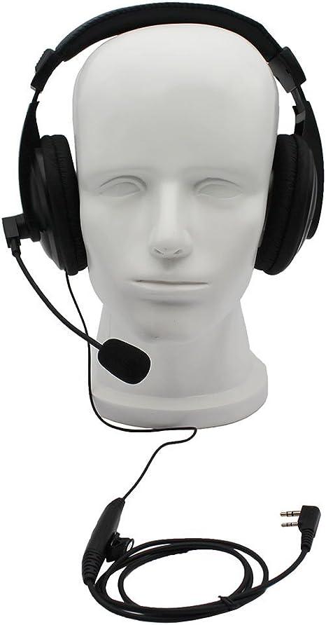 AUDIO-COMM   PRO HEADSET  MIC  FOR  KENWOOD HF  RADIOS