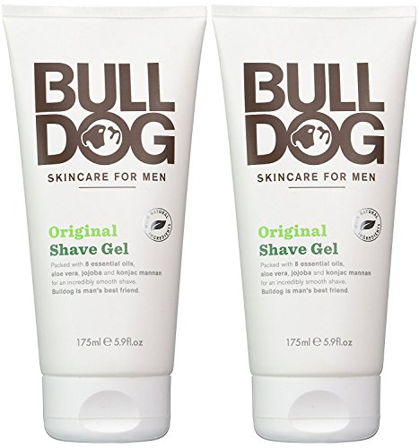 bulldog-skincare-for-men-original-shave-gel-pack-of-2-with-8-essential-oils-aloe-vera-jojoba-and-kon