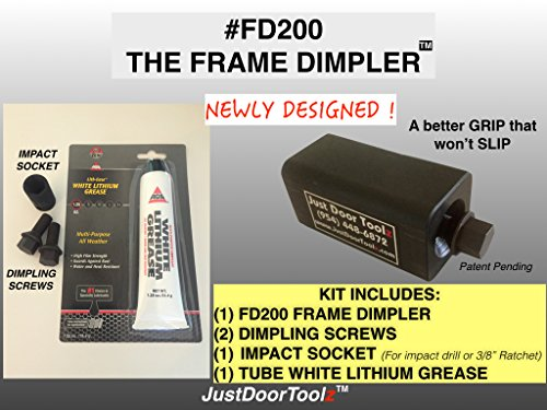 THE FRAME DIMPLER by THE FRAME DIMPLER