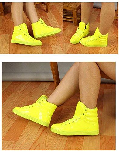 Shoe Plus Dance Top Sneaker Men Waterproof Gaorui High White Rain Shiny New Boot Size Women Sport 1qaTT0U