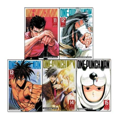 One-Punch Man Volume 11-15 Collection 5 Books Set (Series 3) ()