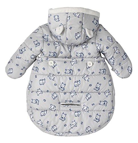 f826c3c8c257 Amazon.com  London Fog Newborn Infant Baby Girl Boy Puffer Carbag ...
