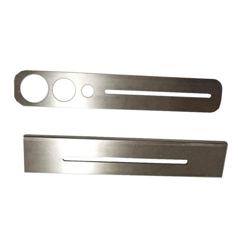 Universal Tile Marble Glass Ceramic Floor Drilling Hole Tools Hole Opener Locator Adjustable Position Ruler (Puncher Locator)