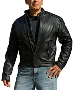 Interstate Leather Men's Touring Jacket (X-Large)