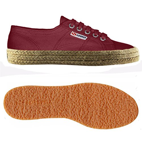 Red Unisex Superga Dk S003i10 Scarlet cotushirt Adulto 2750 Sneaker xFwqwTzR