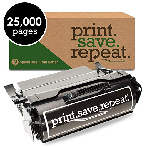 (Print.Save.Repeat. Lexmark T650H11A High Yield Remanufactured Toner Cartridge for T650, T652, T654 [25,000 Pages])